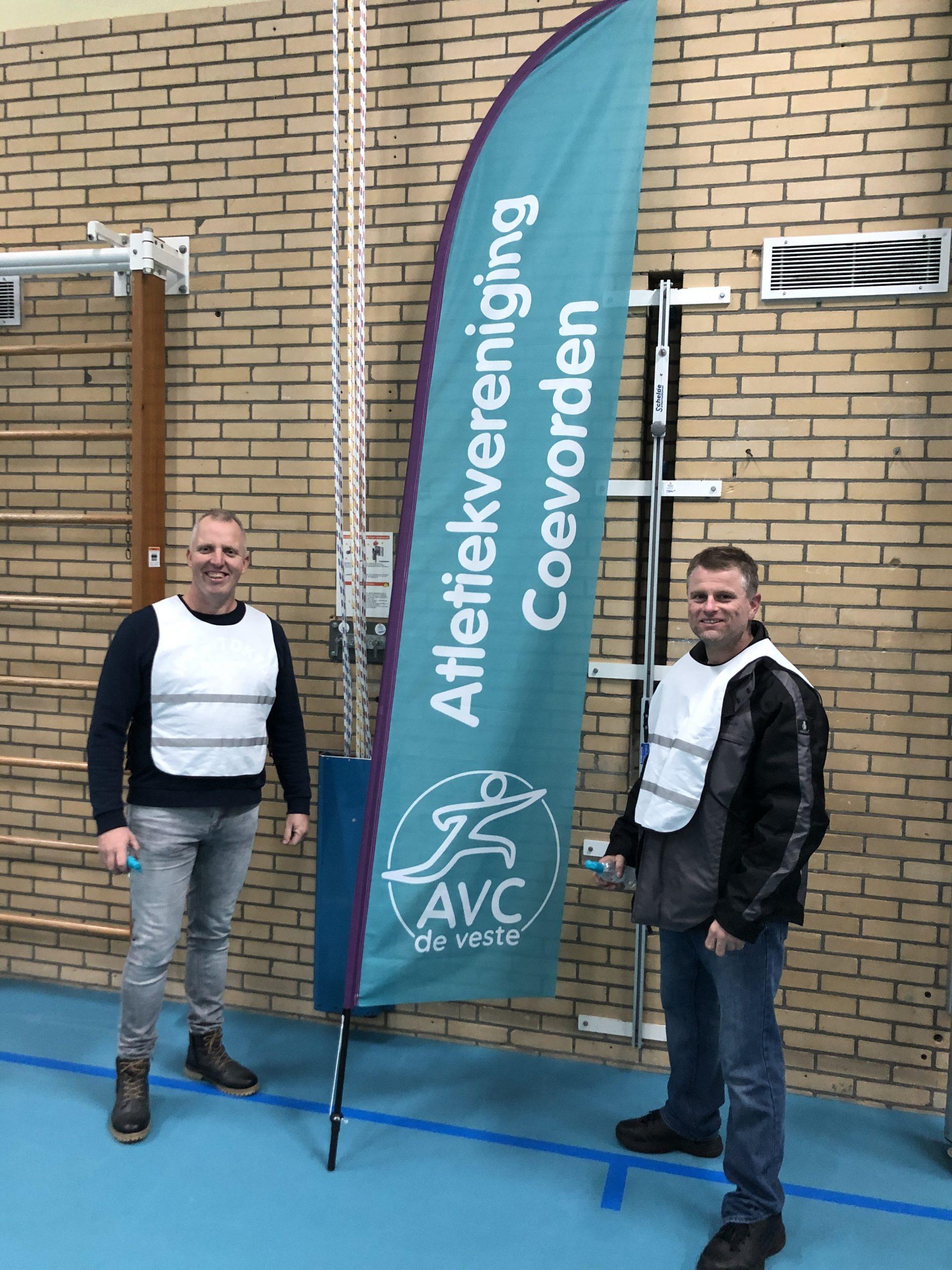 Toezicht Corona Atletiek Coevorden AVC De Veste jeugdatletiek
