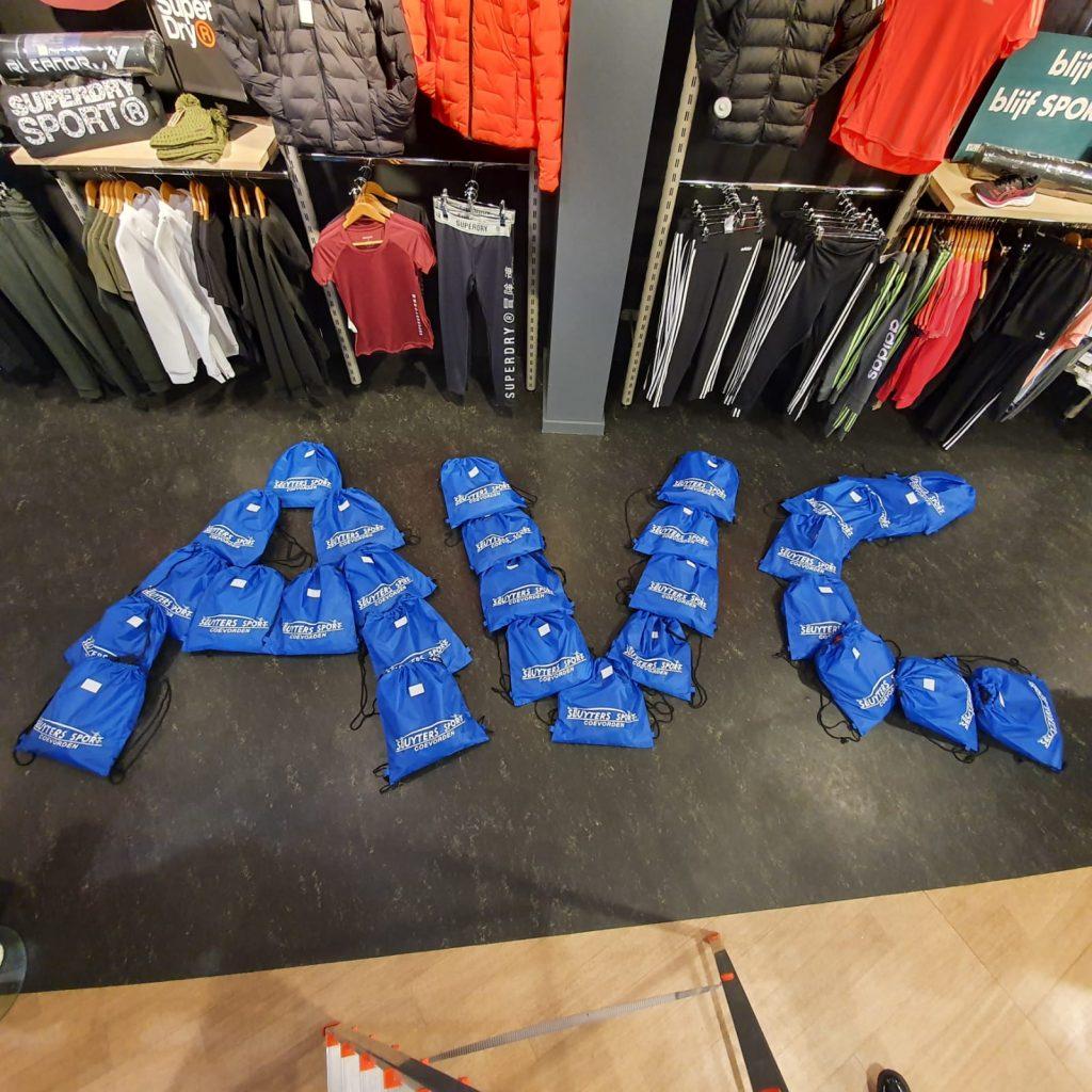 AVC De Veste kleding jeugd atletiek coevorden